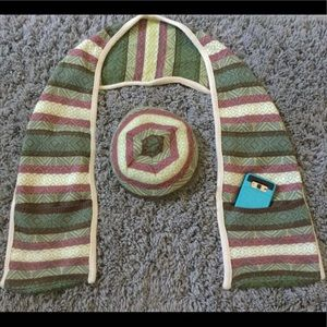 Scarf and Beanie Matching Set